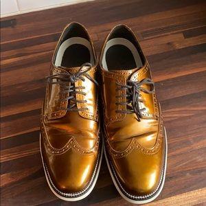 Cole Haan Grand.Øs Bronze Dress Shoes